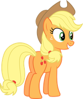Applejack Excited by SLB94
