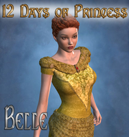 12 Days of Princess - Belle by mylochka