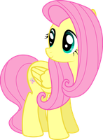 Fluttershy by BlueSnowfire