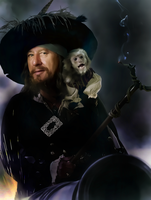 Captain Barbossa by donvito62
