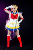 Super Sailor Moon by Miwako-cosplay