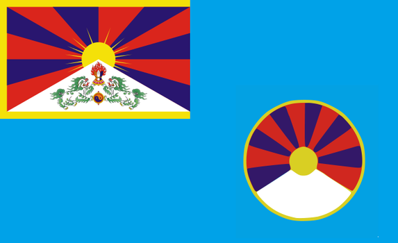 Tibet Air Force Ensign by kyuzoaoi
