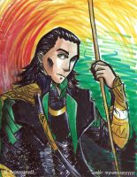 Loki Quick Color by TheonenamedA