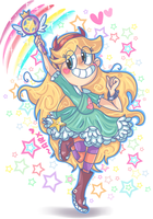 KAWAII MAGICAL PRINCESSSSSS!!! by chibiirose