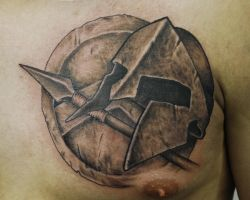 Spartan Tattoo by joshing88