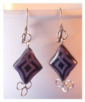 Celtic knot and wire earrings by Glori305