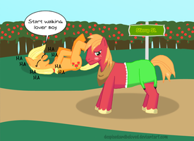 Big Mac loses the bet by DespisedAndBeloved