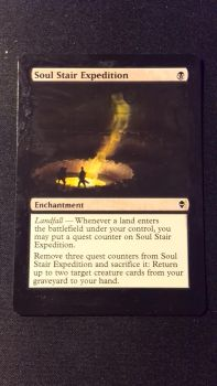 mtg alter - soul stair expedition by mighty-mono-golem