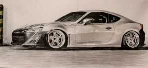 Toyota 86 by Ness1000