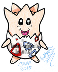 POKeMON GEN 2 - TOGEPI #175 by Fantasy-Fashionista