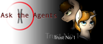 Ask the Agents Tumblr Header! by Kobayashi-Maruu