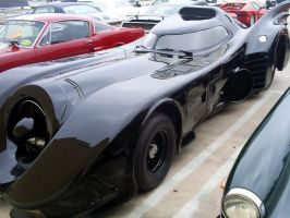 BLACK Batmobile 1989 T Burton by Partywave