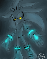 Silver the hedgehog by zeldaprincessgirl100