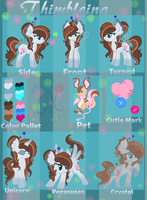Thimbleina Ref by Ask-Thimble