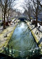 canal St Martin by titoune33
