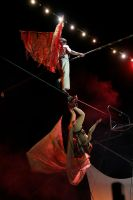 On the trapeze... by NobodyLoryo