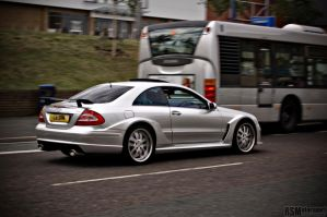 Mercedes CLK - AMG Black styling by redsunph
