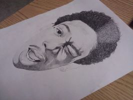 Drawing Wiz Khalifa..... by MontyKVirge