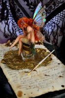 The Inkwell Fairy Sculpture by SutherlandArt