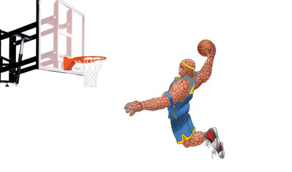 The Thing Dunk by Pramodace