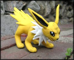 Jolteon Sculpture Commission by HollieBollie