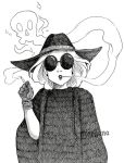Inktober 5 - Socielite Witch by morganadulac