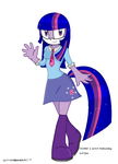 Sonic MLP-Twilight Sparkle by PrincessLacusClyn
