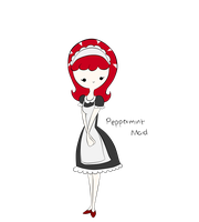 Peppermint Maid... by AT-Izzy25