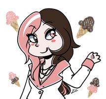 [rwby] here comes the ice cream woman by LadyZiodyne