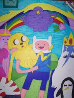 ADVENTURE TIME! by HideTheKnives