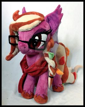 Autumn Mist Plushie by AppleDew