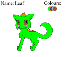 Leaf Reference Sheet by stormspirit1000