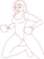 Female Boxer by gtstyling32