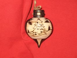 Commission:  Christmas Tree Ornament 1 by Knightmoon