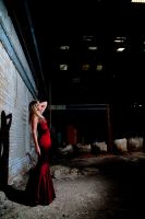 Red Dress 1 by AndrewDobell