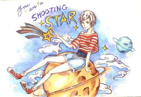 Shooting Star by RainstarART