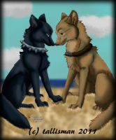 Blue and Hige by TallyBaby13