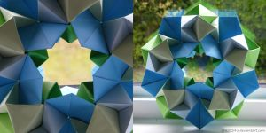Origami Stargate by c1a2t345