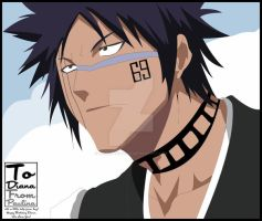 .:Bleach:. Hisagi - Vector by Jeanette-Black