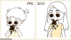 Then and now by BlackNina