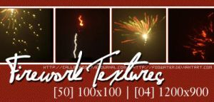 Firework Textures by FooWater