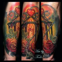 Ruby Lantern Tattoo by Todo by TodoArtist