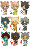 30 Point Cat Adopts 3/9 OPEN by TekNalaGee