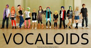 VOCALOIDS love FASHION by maki-chama