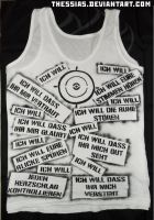 Ich Will Tank Top by thessias
