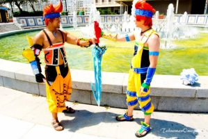 Wakka X Chappu 3 by ShinrajunkieCosplay