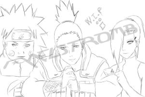 Team Asuma _WIP_ by maelstromb