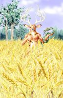 Cernunnos by DarkWolfie