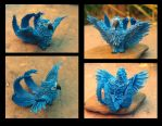 Blue Macaw by hontor
