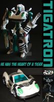 TFA Beast Wars Tigatron by Gizmo-Tracer